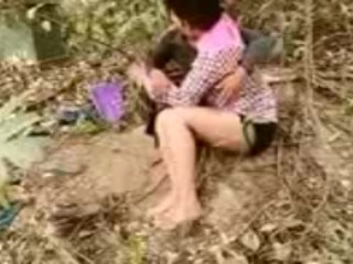 Indian school duo Outdoor intercourse chudayi best porn