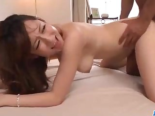 Astonishing Chinese honey, Reon Otowa got down and muddy with her married neighbor step into the shoes of door