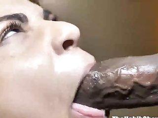 she swallows that cock nasty freak slobers