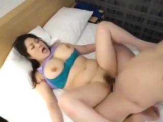 Crazy Japanese girl in Exotic Big Bosom JAV scene