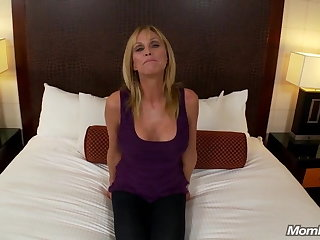 Hot Grandma gets anal intercourse and messy cum