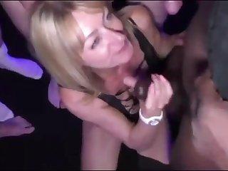 Slutty Bukkake Housewife So Much Male Milk On Her Face