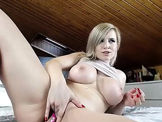 Talking Dirty In German masturbation plus anal fingering HD