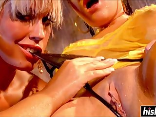 Irresistible Girls Allied to To Rubbing One-Eyed Snake
