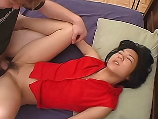 Queasy Asian amateur fucked by her white boyfriend