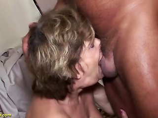 hideous grandma deepthroat anal fucked