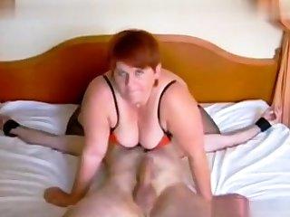 Femdom fetish mature brit russian cumshot