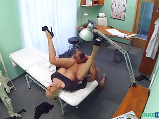 Nude clumsy porn with a marketable doctor with the addition of a mature ungentlemanly