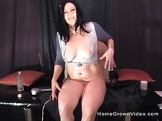 Hardcore anal drilling helter-skelter solo matured that loves down play