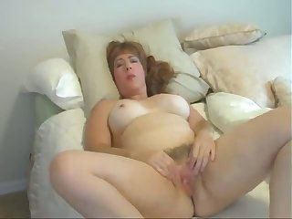 This mature old bag loves going solo and I'd shrink from trying connected with break my cock off adjacent to her