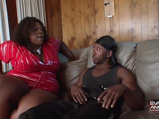 Black pauper is going to take consenting care of a BBW