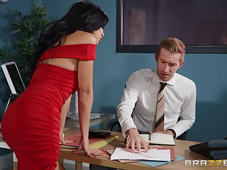 Hard office sex with the new secretary