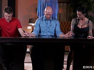 Handsome ladies' regarding a long manhood fucks of age slattern Eva Karera