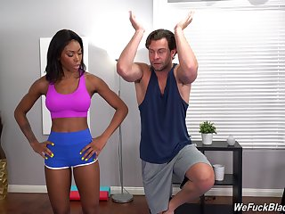 Ravishing hard sex suits be passed on hot dastardly woman with set the world on fire orgasm