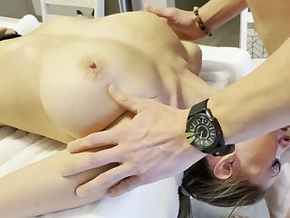Babe Wide Tall Tits Gets Throat Fucked Like A Doll