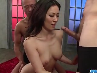 Staggering group play with cock sucking, Sera Ichijo