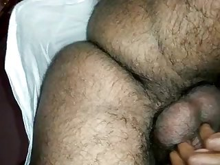 Indian lady groaning for ages c in depth plowed from behind