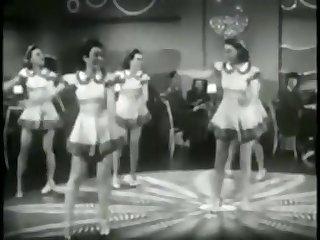 SEXY HOT RETRO BABES DANCE VIONTAGE BALLET