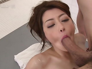 Maki Hojo's Glum Soapland (Uncensored JAV)
