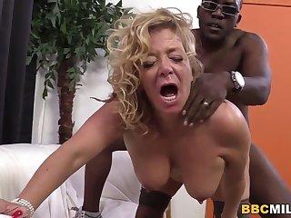 Busty Cougar Karen Summer Tastes Sulky Cock